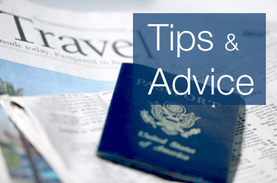 Travel advice from experts